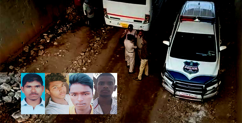 All Four Accused In Hyderabad Rape-Murder Case Killed In Police Encounter