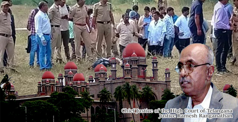 Telangana HC Stays PILs On Shadnagar Encounters: Disha Rape And Murder