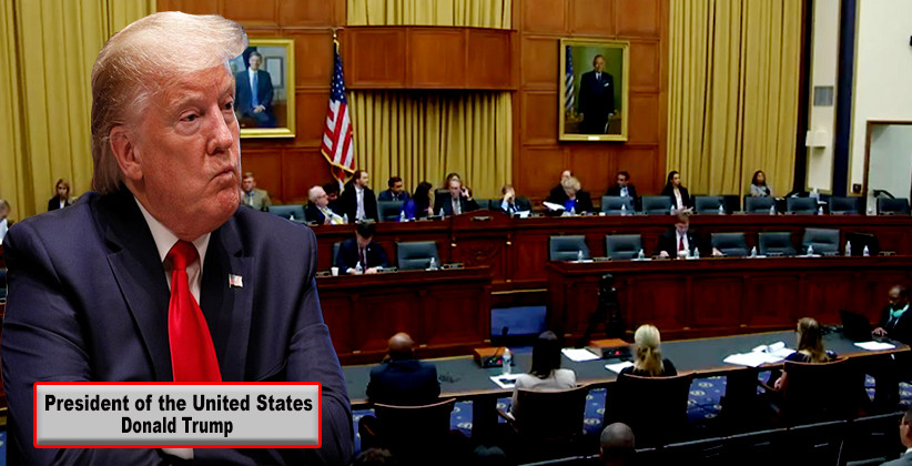 Donald Trump's First Impeachment Hearing Today, His Lawyer Says Trump Won't Participate