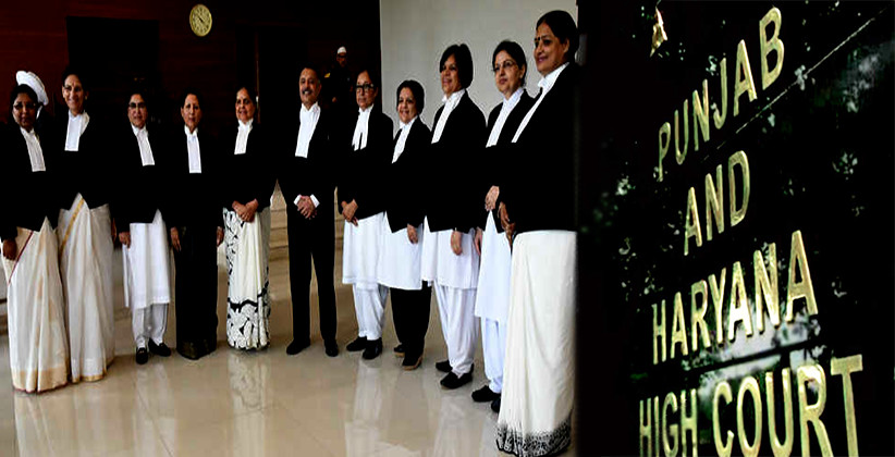 Punjab & Haryana High Court Gets An All-Women's Bench For The First Time