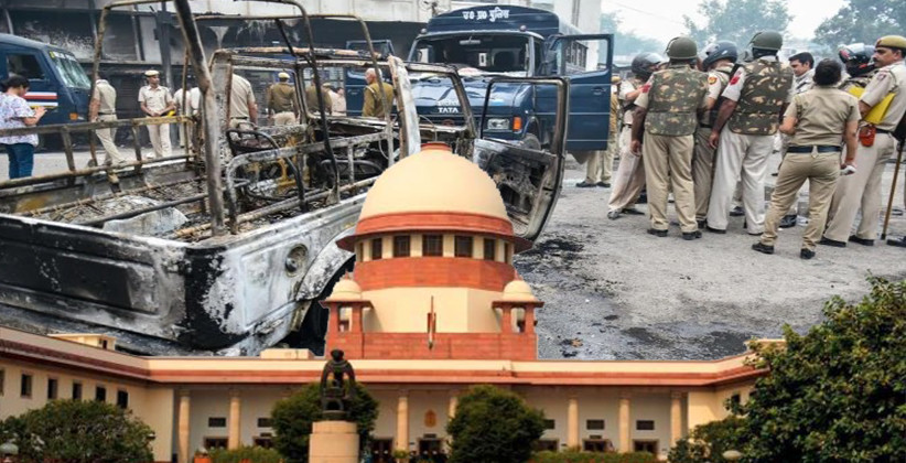 SC Declines To Hear PILs Against Protesting Policemen: Tis Hazari Violence