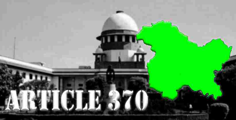 Article 370 Hearing: Ruckus Between AG/SG And Rajiv Dhavan On 5th Day Of Hearing; SC Reserves Order On Reference To Larger Bench