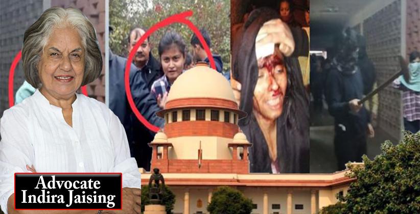 Indira Jaising Demands SC to Take Suo Moto Cognizance of JNU Violence: JNU Attacks
