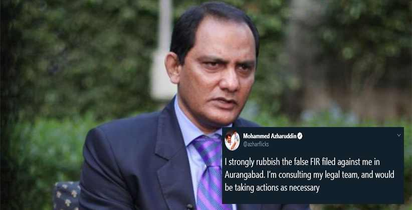 Mohd. Azharuddin Hit By FIR By Travel Agent; In rebuttal Azhar Bowled Googly by Filing Rs. 100 Cr. Defamation Case
