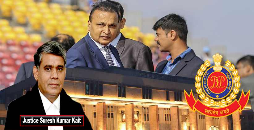 Delhi HC Issues Notice To Police In Court Master's Plea Against Removal For Tampering With SC Order In Anil Ambani Contempt Case