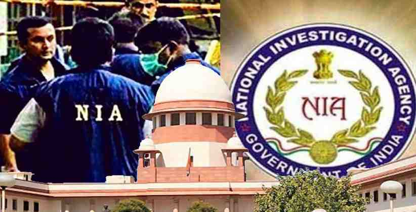 SC Seeks Centre's Response On Plea Challenging NIA Act