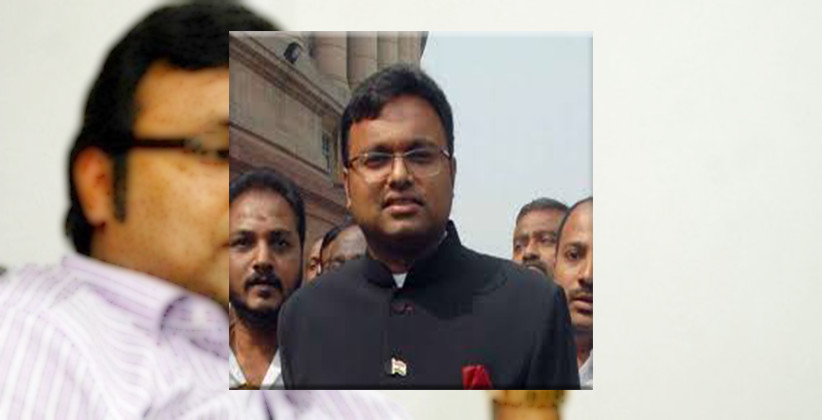 SC To Hear Karti Chidambaram's Plea Today Regarding The Return Of Rs. 20 Crores Deposited By Him As Security For Traveling Abroad