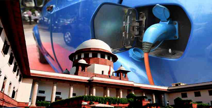 Centre Asked To File Reply On PIL Seeking To Convert Public Transport And Government Vehicles Into Electric By SC