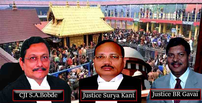 SC to wrap up Sabarimala case of discrimination against women at religious places in 10 days