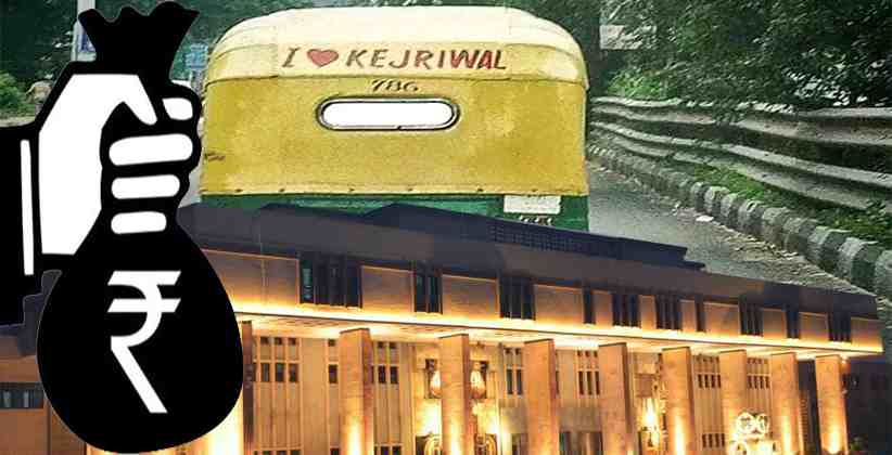 Auto-driver fined Rs. 10,000 for 'I love Kejriwal' sticker; HC issues notice to police