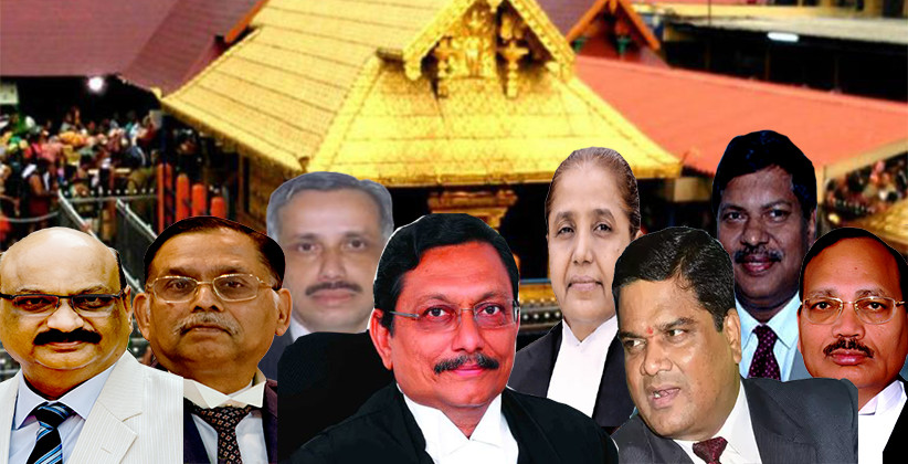 9 Judge Bench Headed by CJI SA Bobde will hear the reference made in Sabarimala Review