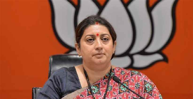 Smriti Irani Files FIR Against Builder For Using Her Pictures Without Consent