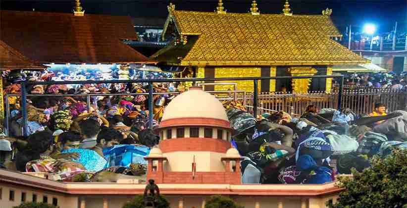 Sabarimala Case Mentioned Before SC Today
