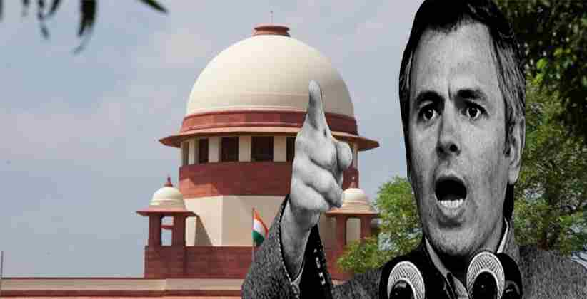 SC Issues Notice To J&K Government On A Plea Against Detention Of Former CM Omar Abdullah