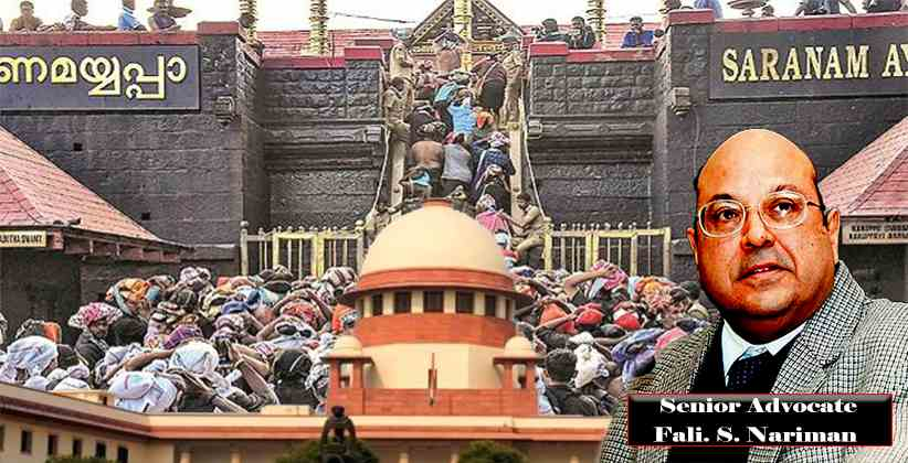 Sabarimala Case: SC To Consider Objections Raised By Senior Advocate Fali. S. Nariman And Others On The Reference Made To Larger Bench
