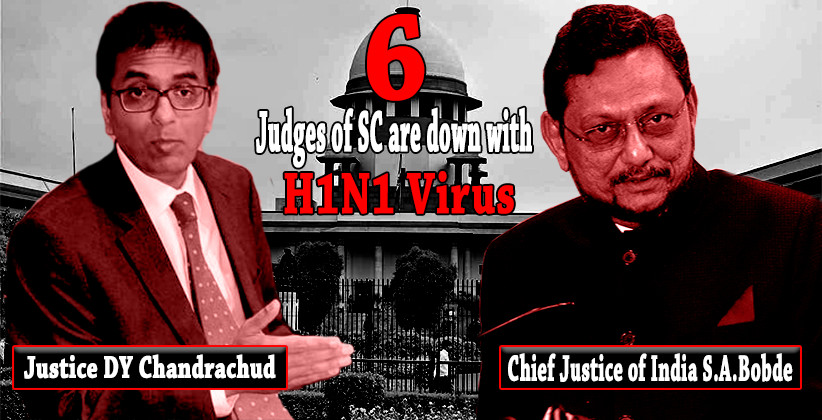 Six Supreme Court Judges Down With Swine Flu