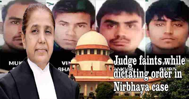 Judge R. Banumathi Faints While Dictating Order In Nirbhaya Case