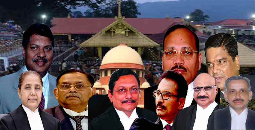 9-Judges' SC Bench To Hear Sabarimala Case Today To Frame Issues Regarding Discrimination Against Women In Religious Traditions