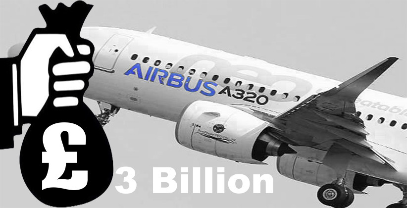 Airbus Strikes A £3 Billion Settlement To End Bribery & Corruption Investigations