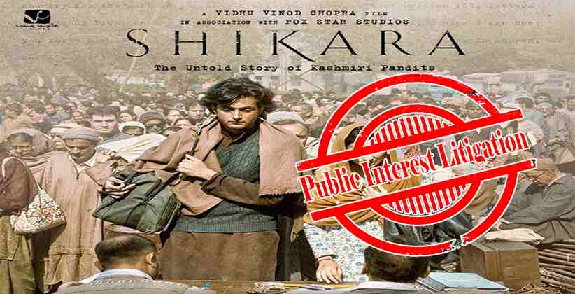 PIL Filed In J&K HC, Seeks To Put On Hold Release Of The Film 'Shikara'