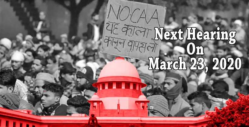 CAA Protest Supreme Court Rebukes Delhi Police