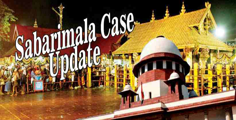 Sabarimala Case Update Supreme Court
