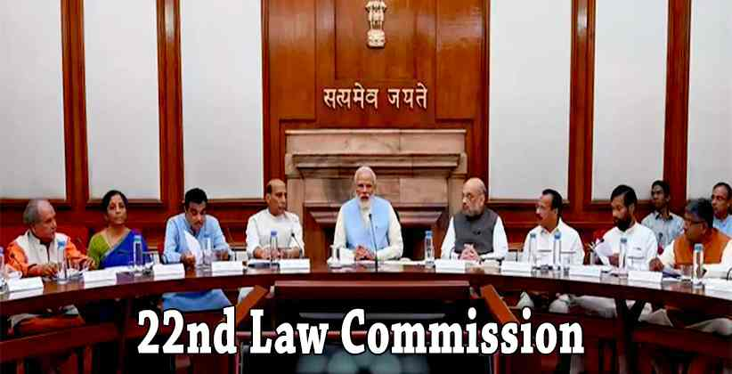 Union Cabinet Passes Order To Form Law Commission