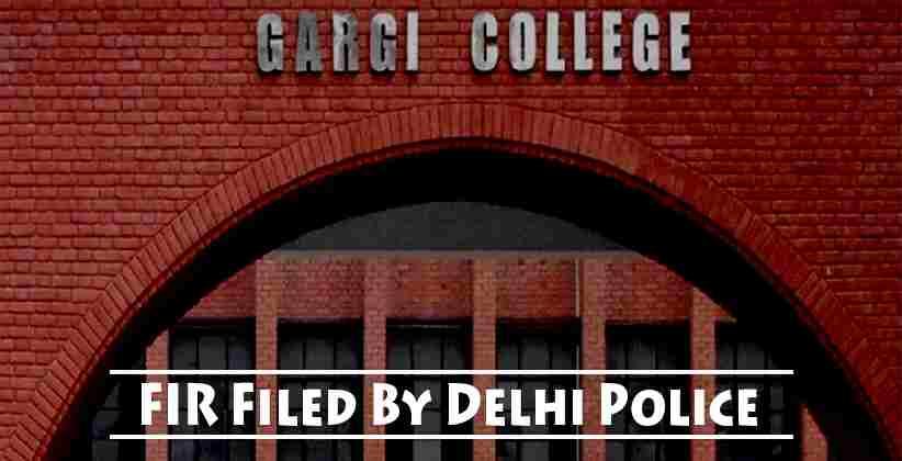 Gargi College Molestation: FIR Filed By Delhi Police