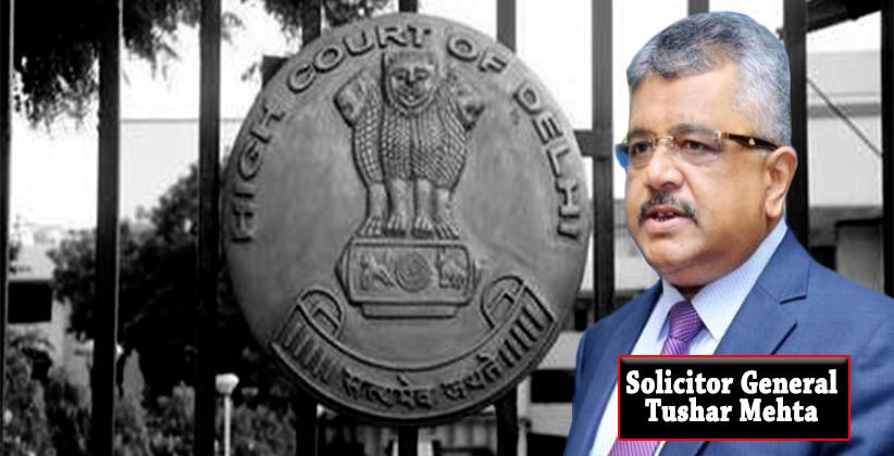 Delhi High Court Solicitor General Tushar Mehta Delhi Police