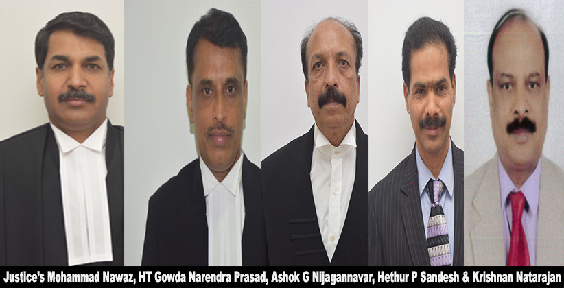Karnataka High Court Judges As Permanent