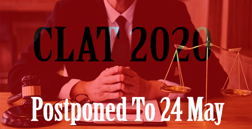 COVID-19 CLAT 2020 Postponed