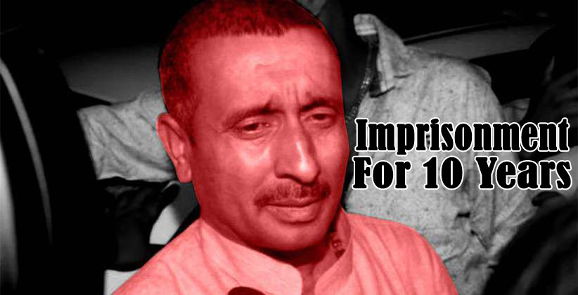 [Breaking]: Kuldeep Sengar Sentenced To Imprisonment For 10 Years For The Death Of Victim's Father