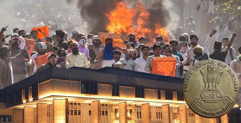 Delhi Riots: Delhi High Court Says No Hearing Till 20th March In Delhi Violence Cases