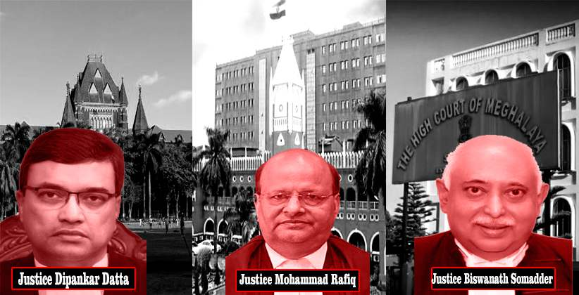 Supreme Court Top Panel Names Chief Justices for Bombay Orissa and Meghalaya High Courts