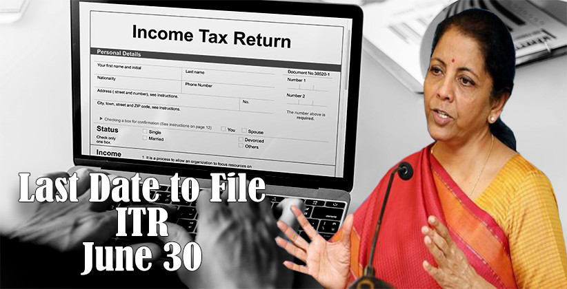 [COVID-19]: Last Date to File Income Tax Returns Extended Till June 30: Ministry of Finance