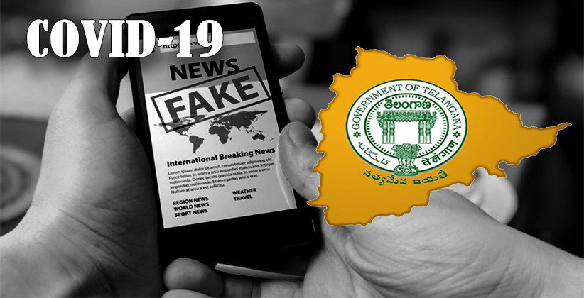 [COVID-19]: Telangana Government Warns Of Legal Action Against Those Spreading Fake News