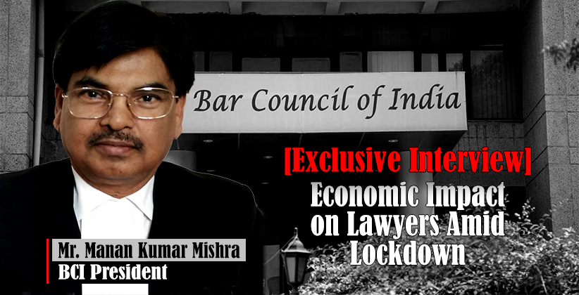 Bar Council Of India President In Conversation With LawStreet Journal