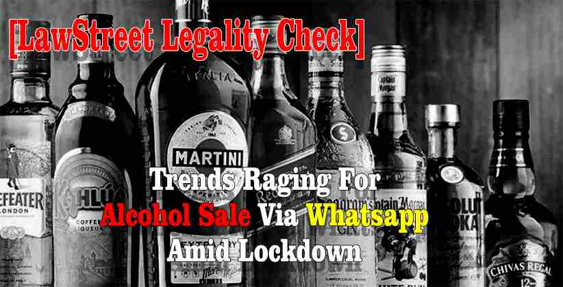 Alcohol Sale Via Whatsapp