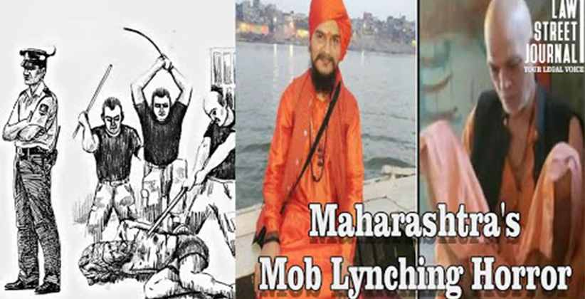 Saadhus and their driver lynched to death