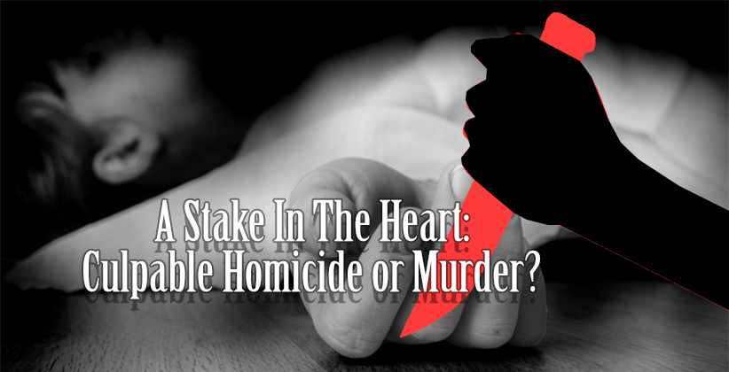 Culpable Homicide Murder