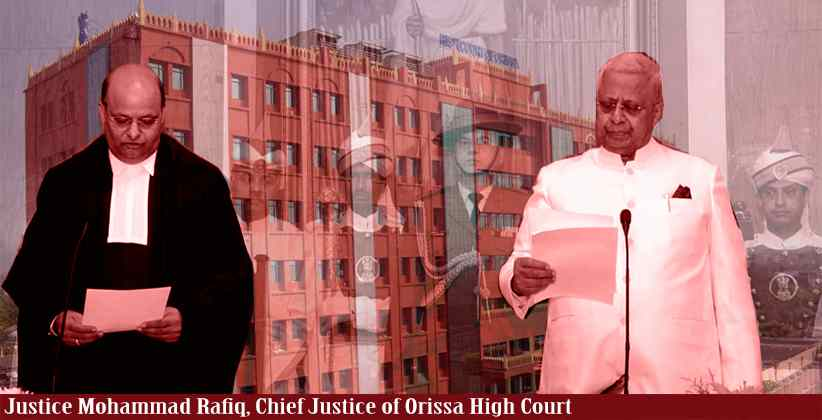 Justice Mohammad Rafiq Takes Oath As Chief Justice Of Orissa High Court