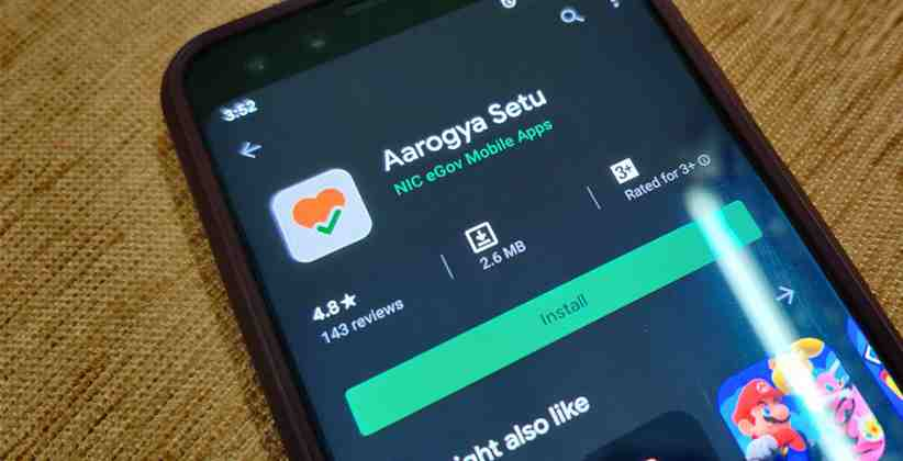 Govt. Launches Official Coronavirus Tracking App Named Aarogya Setu, Which Enables You To Assess The Risk Of Getting Infected