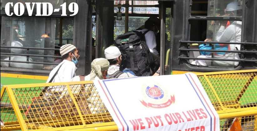 Nizamuddin Markaz Case Central Govt Seeks Suo Moto Cognizance