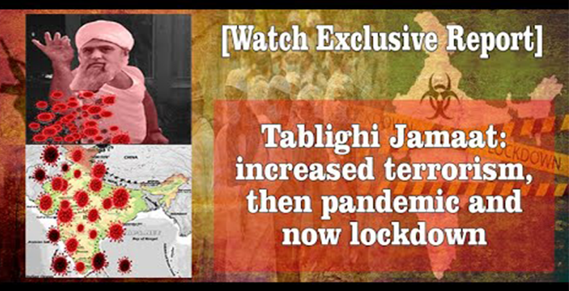 Tablighi Jamaat terrorism pandemic lockdown