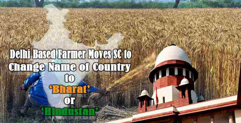 Delhi Based Farmer Moves SC to Change Name…