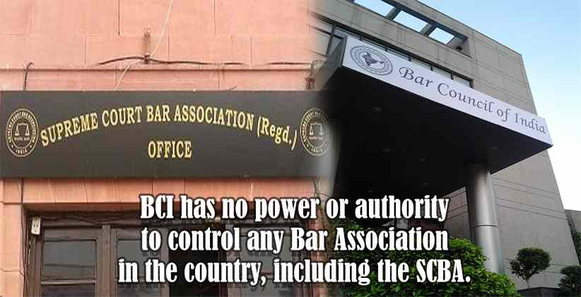 "SCBA Rejects BCI Resolution Staying SCBA's decision to Remove Ashok Arora: ""BCI Has No Power to Control Bar Associations"""