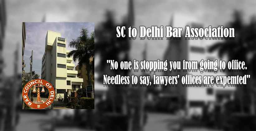 SC Delhi Bar Association Interstate movement