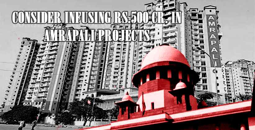 Amrapali Projects Supreme Court To Government