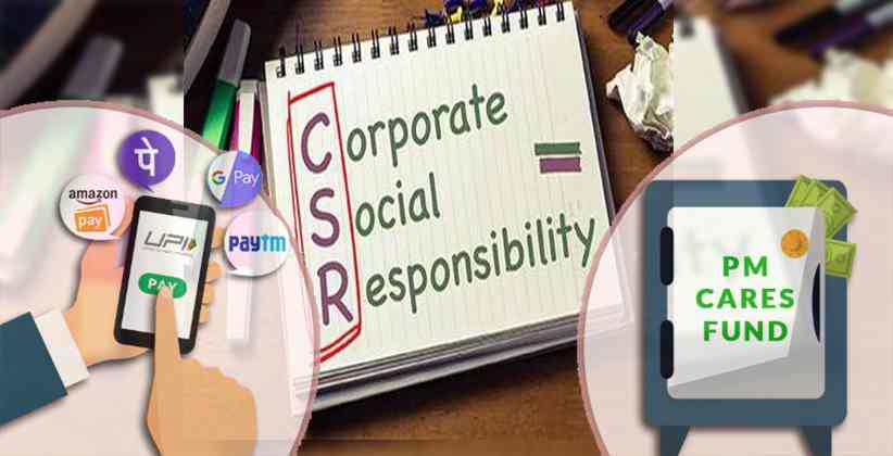 Contributions by The Corporations To PM CARES Fund Will Now Be Considered As CSR Activity