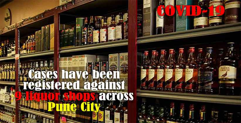 Liquor Shops Booked for Not Following Lockdown Guidelines